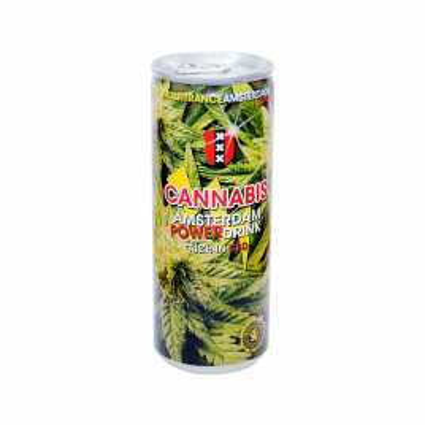 Boissons énergisantes cannabis power drink