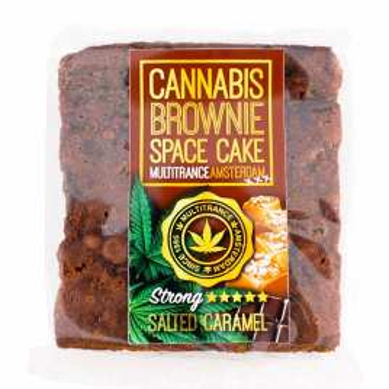 Brownie goût Caramel au Cannabis
