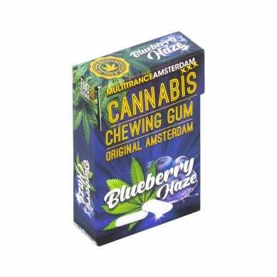 Chewing Gum au Cannabis goût Blueberry Haze