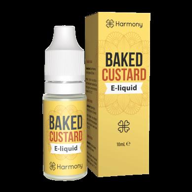 E-liquide CBD Baked Custard