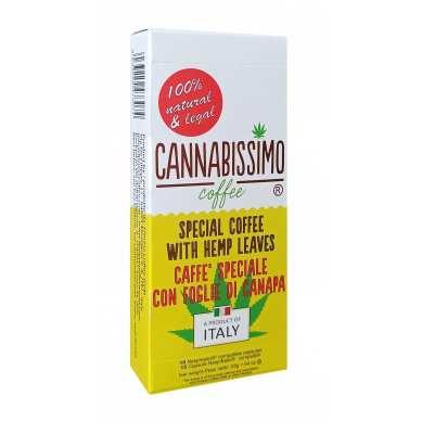 Dosettes café aux feuilles de chanvre
