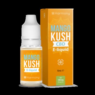 E-liquide CBD Mango Kush Fraise sauvage