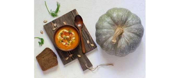 Recette spécial Halloween: potage à la citrouille et au chanvre