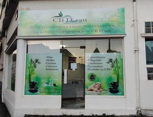 Magasin CBD Rennes CB D'eau