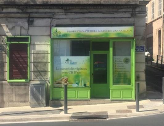 Magasin CBD Marseille CB D'eau