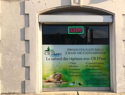 Magasin CBD Reims CB D'eau