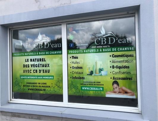 Magasin CBD Beaumont Saint Cyr CB D'eau
