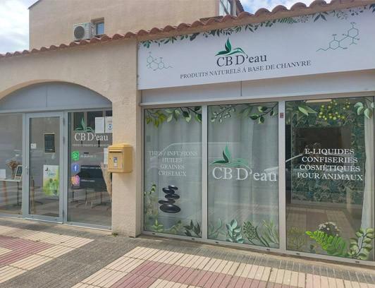 Magasin CBD Canet en Roussillon CB D'eau
